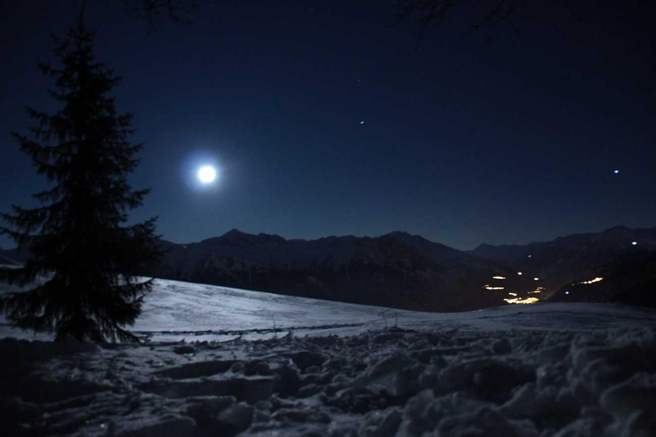 Raquettes - Clair de lune